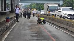 Polisi Rekonstruksi Tabrakan Maut Bus TransJ di Cawang Tewaskan 2 Orang