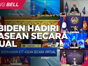 Joe Biden Hadiri KTT Asean Secara Virtual