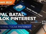 Paypal Batal Caplok Pinterest