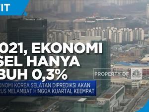 Q3-2021, Ekonomi Korea Selatan Hanya Tumbuh 0,3%