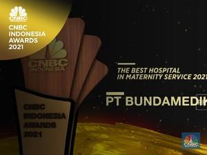 Bundamedik Raih 'The Best Hospital In Maternity Service 2021'