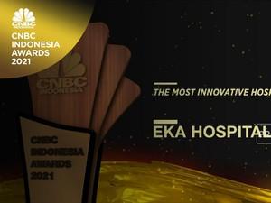 Eka Hospital Raih 'The Most Innovative Hospital 2021'
