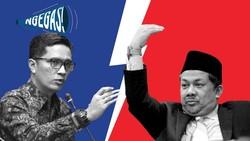 Febri Diansyah VS Fahri Hamzah Soal Jubir Istana