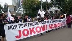 Serba-serbi Aksi Demonstrasi Tuntut Mundur Presiden Jokowi